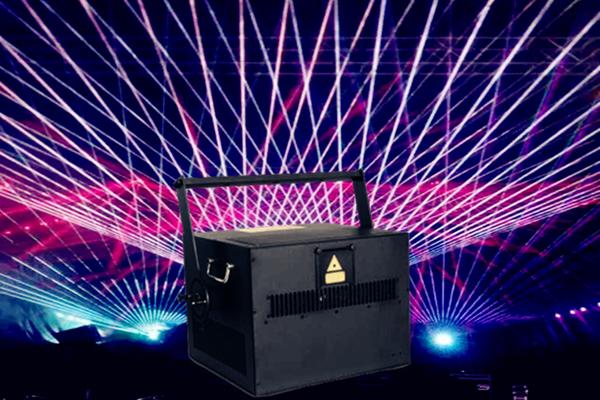 20W全彩激光灯 彩色激光灯 文字激光灯 动画激光灯万圣