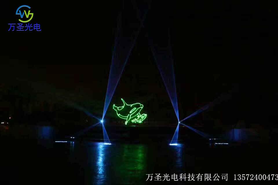 四川芜湖激光灯音乐喷泉_水幕激光工程_激光灯工程安装